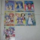 Lucky Star Konata Anime WeiB Schwarz Trading Card