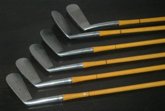 walter hagen vintage golf clubs
