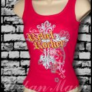 Juniors REBEL ROCKER Tank Top - size large - TLR0017