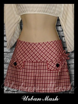 Abercrombie & Fitch Silk Lined Mini Skirt - size 2 - S2PK0003