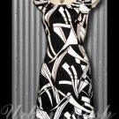 SHARP Summer Dress with MOD Geometric Print - size medium - DMBKW0002