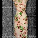 Casa Lee Gorgeous Floral Print Summer Dress - size medium - DMBG0004