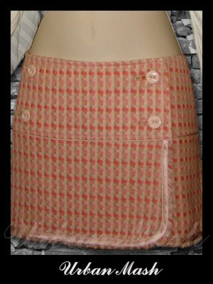 Abercrombie & Fitch Silk Lined Wrap Around Mini Skirt - size 6 - S6PK0002