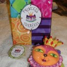 Princess Purrfect Cat Purrfectly Fabulous Trinket Box Westland Giftware Trinket Box