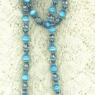 Crystal Collection Turquoise Necklace Set