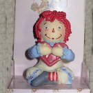 Raggedy Ann Russ Figurine Happy Valentine's Day Cute As A Button