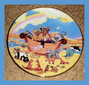 Rainbow Promise Plate Collectors Plate 1996
