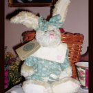 Boyds Country Bunny Retired Hare Shabby Cottage Boyds Rabbit
