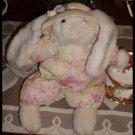 Plush Creations Clover Bunny #3290 Spring Rabbit Shabby