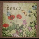 Midwest Seasons Of Cannon Falls Be Peace Wall Hanging Canvas Picture