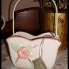 Midwest Seasons Cannon Falls Porcelain Trinket Basket