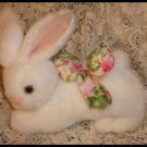 Shabby Cottage Plush Bunny Rabbit