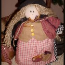 CoUnTrY PrImITiVe WiTcH DoLL Cloth Muslin Whimsical 1977 Joelson Ind