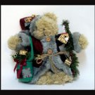 World Bazaar Father Christma Teddy Bear Santa