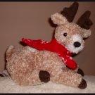Rare Hard to Find Lundt Gund Reindeer Item No 43444 Red Scarf