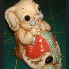 Woodlander Stoneware Rabbit Figurine UK England Nannette