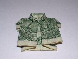 Creative Fold-ems - Aloha Shirt $1