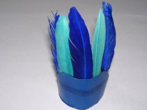 Harvest or Txgiving � Indian Headdress - Blue