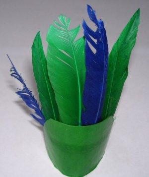 Harvest or Txgiving � Indian Headdress - Green