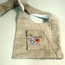 Hemp Sun and Moon Purse / Shoulder Bag