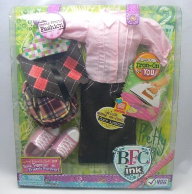 New BFC Inck Doll Fashion Cothes �Pretty Preppy� for your 18� Large BFC MGA Doll