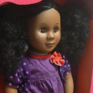 Our Generation 18 Inch Doll Abrianna Black Curly Hair Brown Eyes AA Battat New in Box NIB