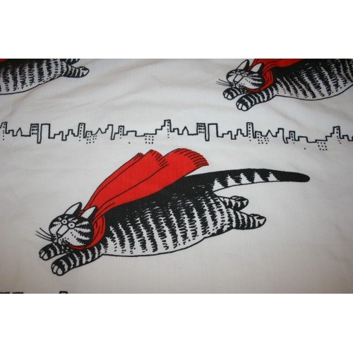 Collectible Kliban Queen Sheet Set