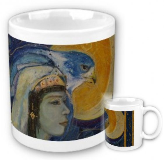 Egyptian Hawk God Ceramic Mug