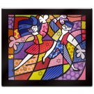 Fun Passion by Britto Laminated Wall Ready Art 35 x 31
