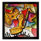 Jazz It Up II by Eric Waugh 3D Mounted Laminated Art 41 x 41