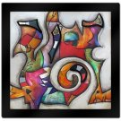 Swirl II by Eric Waugh 3-D Mounted Laminated Art 41 x 41
