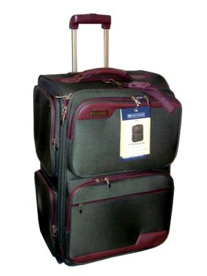Protege Field Collection 25 Inch Rolling Upright Luggage