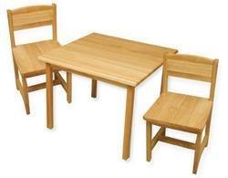 KidKraft Aspen Table and Chair Set - Natural
