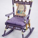 Levels of Discovery Grandchilds Throne Rocker