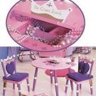 Levels of Discovery Princess Table and 2 Chair Set