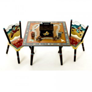 Levels of Discovery Wild West Table & 2 Chair Set