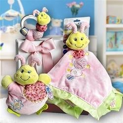 Three Little Love Bugs Gift Basket