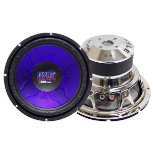 "Pyle Blue Wave High-Powered Subwoofer - 12"", 1200W Max"