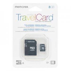 8GB Memorex TravelCard SDHC