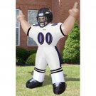 Inflatable Images Baltimore Ravens NFL Inflatable Tiny Player Lawn Figure