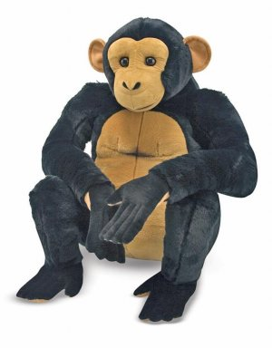 Melissa and Doug Chimpanzee - Plush