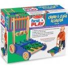 Melissa and Doug Chomp & Clack Alligator Push Toy