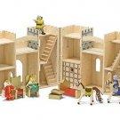 Melissa and Doug Fold & Go Mini Castle