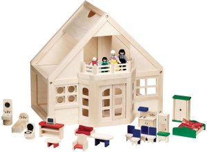 Melissa and Doug Furnished Dollhouse