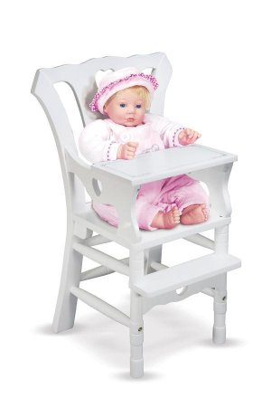 Melissa and Doug High Chair Doll Furniture