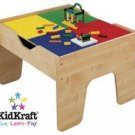 KidKraft 2 in 1 Activity Table Lego compatible NATURAL