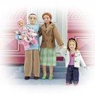Melissa and Doug Victorian Doll Family (Caucasian)