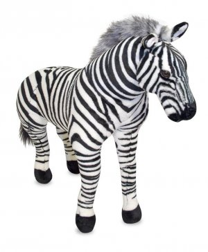 Melissa and Doug Zebra - Plush