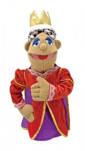 Melissa and Doug Queen Puppet