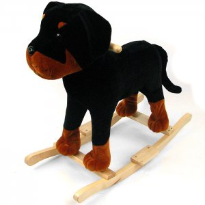 HAPPY TRAILS� Plush Dog Rocking Animal